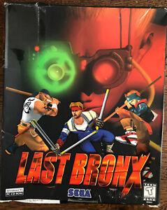Last Bronx PC Fighting Game (SEGA, 1998) Big Box Complete
