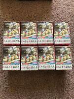 Anime NARUTO -ナルト Mini figure box 8PCS!Petit Chara Land NARUTO SHIPPUDEN