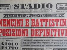 STADIO - Quotidiano Sportivo 16-07-1960 - Tour De France Nencini Battistini[G44]