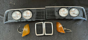 BMW E23 733i 735i 745i Headlights Grills Kidney Blinkers Set