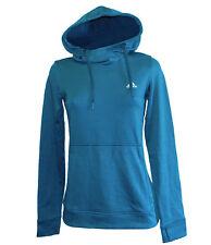 Adidas Women's Climawarm Transit Light Weight Fleece Hoody Sz L BLUNIT / MYSPET