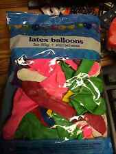 Assorted Color Latex Balloons 3 oz bag    NEW IN PACK