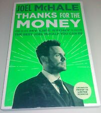JOEL McHALE THANKS FOR THE MONEY 2016 ARC Advance Uncorrected Proof Paperback