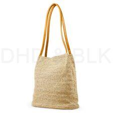 Women Straw Beach Bag tote Shoulder Bag Summer Handbag