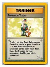 Pokemon Trader 106/130 Base Set 2 Pokemon Card LP Cond #