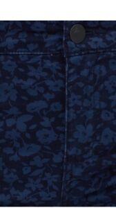 Sportscraft Cleo Printed Slim Stretch Jeans  Size 10 Dark Denim & Midnight