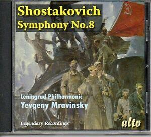 Shostakovich Symphony No.8 - Leningrad Philharmonic Yevgeny Mravinsky Free Post