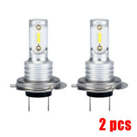 2x H7 LED Headlight Bulbs Conversion Kit Hi/Lo Beam 1000LM 6000K Super Bright
