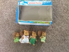 SYLVANIAN FAMILIES SQUIRREL FURBANKS FAMILY IN BOX