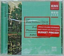 SERGEI RACHMANINOV - CD - Preludes - Moments Musicaux - BRAND NEW