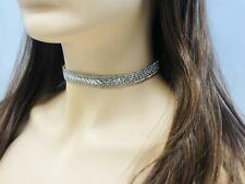 Fashion Women Rhinestone Crystal Rhinestone Necklace Wedding Jewellery UK