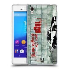 Fundas y carcasas Para Sony Xperia M4 Aqua de silicona/goma para teléfonos móviles y PDAs