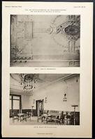 1904 - Architektur: Bahnhof Stettin (Berlin Gare Du Nord ) : Saal Der Frauen