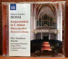 CD Orgel Organ Bossi Theme & Variations Konzertstück Furtwängler & Hammer III/54