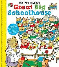 Richard Scarry's Great Big Schoolhouse [With Poster/Dust Jacket] 1st Edition NEW