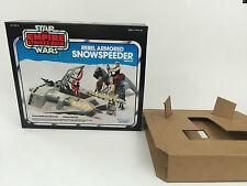 Nuevo Star Wars Imperio Contraataca Snowspeeder Blue Box + Insertos