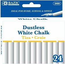 Bazic White Chalk Standard Size Blackboard Chalkboard Chalks Great Game