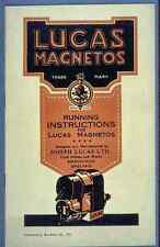 090 Lucas Magnetos Vintage Photo Print A4