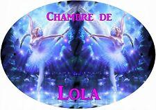 plaque de porte chambre danseuse cygne personnalisée au choix réf 266