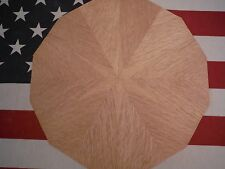 "~""STARRY OAK BIRDSEYE PIE""~  RIFT RED OAK *STARBURST* veneer kit, lot 539AA"