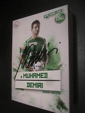 36281 Muhamed Demiri FC St Gallen original signierte Autogrammkarte