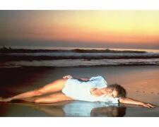 MICHELLE JOHNSON LYING ON BEACH BLAME IT ON RIO HOT!