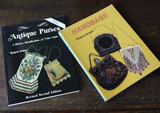 Vintage Purses & Handbags Books by Holiner & Ettinger, Schiffer, DB Books.