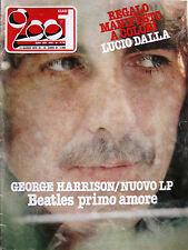 CIAO 2001 10 1979 George Harrison Pete Townshend John Klemmer Cocciante Lolli