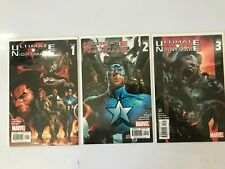 ULTIMATE NIGHTMARE ISSUES 1, 2, 3,  LOT OF 3 BOOKS