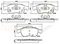 Allied Nippon Front Brake Pad Set ADB32293  - BRAND NEW - 5 YEAR WARRANTY