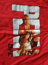 BJ Penn UFC MMA BJJ Pride Martial Arts Tapout Red Graphic T-shirt Size XXL