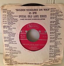"Gene Pitney ""True Love Never Runs Smooth"" & ""Donna Means Heartbreak"""