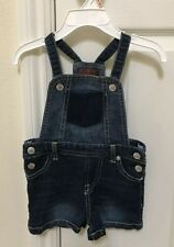 7 For All Mankind Dark Wash Jeans Overall For Girls 2T Great Condition