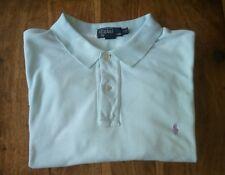 MEN'S RALPH LAUREN Pale Blue Polo Shirt,2XL,XXL, Tall.   Stunning