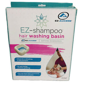 New Ez-Access Ez-Shampoo In Bed Hair Washing Basin Sink Inflatable