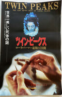 "TWIN PEAKS FIRE WALK WITH ME Japanese B2 movie poster DAVID LYNCH 17"" X 11"""
