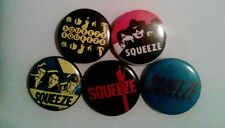 5 x Squeeze 1'' Pin Button Badges (uk brittish band new wave london music )