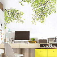Green Tree Wall Stickers Family Kids DIY Removable Vinyl Decal Mural Home Decor