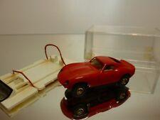 FALLER SLOT CAR FERRARI GT - RED L5.5cm - GOOD CONDITION IN BOX
