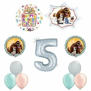 The Secret Life of Pets 5th Holographic Birthday Party Balloon