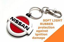 Keychain for Nissan Nismo Cube Juke Note Micra Qashqai Key ring fob PVC emblem