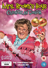 Mrs Brown's Boys Christmas Treats DVD Brendan OCarroll UK Release R2