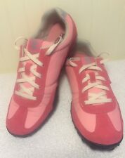 Timberland Women's Pink Suede Shoes Earthkeepers Ortholite 5809A Size US 8 U.K 6