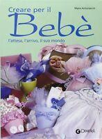Creare per il bebé bebe' libro uncinetto bambini asilo punto croce ricamo nuovo