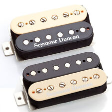 Seymour Duncan SH-4b & SH-2n Hot Rodded Humbucker Pickup Set, Zebra, 11108-13Z