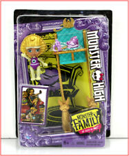 Monster High Monster Family CLEO DE Nile - BABY SANDY Doll & High Chair ❤️VHTF❤️