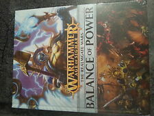 Warhammer age of sigmar realmgate wars book 2 balance of power-new & sealed
