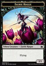 u 1//1 //// food token mtg magic eld Mrm english foil faerie token