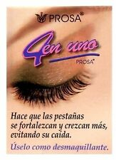 PROSA Oil For Larger EYELASHES 4 in 1 Aceite Para Alargar PESTANAS 4 En Uno