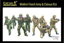 Modern French Army & Chinese PLA - Caesar Miniatures H059- 1/72 Scale